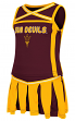 Arizona State Sun Devils NCAA Toddler Handspring 2 Piece Set Cheerleader Outfit