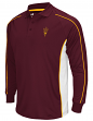 "Arizona State Sun Devils NCAA Men's ""Overtime"" Long Sleeve Polo Shirt"