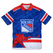 "New York Rangers NHL ""Thematic"" Slapshot Men's Polo Shirt"