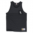 Chicago White Sox Mitchell & Ness MLB Tonal Stripe Dual Blend Tank Top Shirt