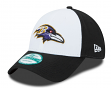 "Baltimore Ravens New Era 9Forty NFL ""The League White Front"" Adjustable Hat"
