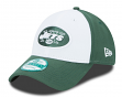 "New York Jets New Era 9Forty NFL ""The League White Front"" Adjustable Hat"