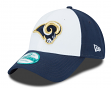 "St. Louis Rams New Era 9Forty NFL ""The League White Front"" Adjustable Hat"
