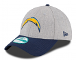 "San Diego Chargers New Era 9Forty NFL ""The League Heather"" Adjustable Hat"