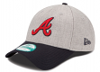 "Atlanta Braves New Era 9Forty MLB ""The League Heather"" Adjustable Hat"