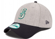 "Seattle Mariners New Era 9Forty MLB ""The League Heather"" Adjustable Hat"