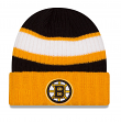 Boston Bruins New Era NHL Rib Start Cuffed Knit Hat