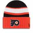 Philadelphia Flyers New Era NHL Rib Start Cuffed Knit Hat