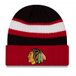 Chicago Blackhawks New Era NHL Rib Start Cuffed Knit Hat