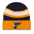 St. Louis Blues New Era NHL Rib Start Cuffed Knit Hat