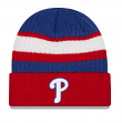 Philadelphia Phillies New Era MLB Rib Start Cuffed Knit Hat