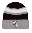 Chicago White Sox New Era MLB Rib Start Cuffed Knit Hat