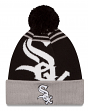 Chicago White Sox New Era MLB Logo Whiz Cuffed Knit Hat with Pom