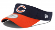 Chicago Bears New Era NFL 2015 Official Sideline Performance Visor
