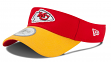 Kansas City Chiefs New Era NFL 2015 Official Sideline Performance Visor