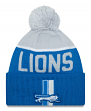 Detroit Lions New Era 2015 NFL Sideline On Field Classic Sport Knit Hat