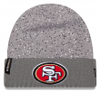 "San Francisco 49ers New Era NFL ""Splattered"" Cuffed Knit Hat"