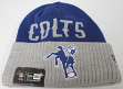 Indianapolis Colts New Era NFL Throwback Classic Cover Cuffed Knit Hat
