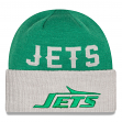 New York Jets New Era NFL Throwback Classic Cover Cuffed Knit Hat - 1978