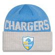 San Diego Chargers New Era NFL Throwback Classic Cover Cuffed Knit Hat