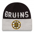 "Boston Bruins New Era NHL ""Classic Cover"" Cuffed Knit Hat"