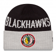 "Chicago Blackhawks New Era NHL ""Vintage Classic Cover"" Cuffed Knit Hat"