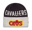 """Cleveland Cavaliers New Era NBA """"Throwback Classics Cover"""" Cuffed Knit Hat"""