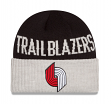 "Portland Trail Blazers New Era NBA ""Throwback Classics Cover"" Cuffed Knit Hat"