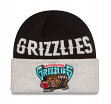 """Vancouver Grizzlies New Era NBA """"Throwback Classics Cover"""" Cuffed Knit Hat"""