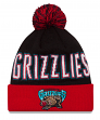 "Vancouver Grizzlies New Era NBA ""Throwback Winter Fresh"" Cuffed Knit Hat w/Pom"