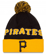 "Pittsburgh Pirates New Era MLB ""Winter Fresh"" Cuffed Knit Hat with Pom"
