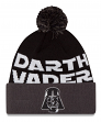"Darth Vader Star Wars New Era ""Winter Fresh"" Cuffed Knit Hat with Pom"