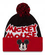 "Mickey Mouse New Era ""Winter Fresh"" Cuffed Knit Hat with Pom"