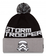 "Stormtrooper Star Wars New Era ""Winter Fresh"" Cuffed Knit Hat with Pom"