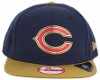 Chicago Bears New Era 9FIFTY NFL 2015 Gold Collection Sideline Snap Back Hat