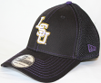 LSU Tigers New Era 39THIRTY Crux Line Neo Flex Fit Hat