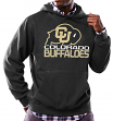 "Colorado Buffaloes NCAA Majestic ""Focused"" Men's Hooded Sweatshirt"