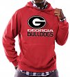 "Georgia Bulldogs NCAA Majestic ""Focused"" Men's Hooded Sweatshirt"