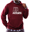 "Texas A&M Aggies NCAA Majestic ""Focused"" Men's Hooded Sweatshirt"