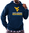 "West Virginia Mountaineers NCAA Majestic ""Focused"" Men's Hooded Sweatshirt"