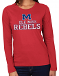 Mississippi Ole Miss Rebels NCAA Majestic Momentous Women's Long Sleeve T-Shirt