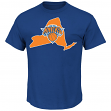 "Carmelo Anthony New York Knicks Majestic NBA ""Record Holder"" Blue Player T-Shirt"