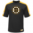 "Boston Bruins Majestic NHL ""Quick Play"" Cool Base V-Neck Shirt"