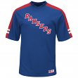 "New York Rangers Majestic NHL ""Quick Play"" Cool Base V-Neck Shirt"