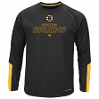 "Boston Bruins Majestic NHL ""Cutting"" Cool Base Men's Long Sleeve Shirt"