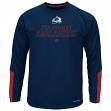 "Colorado Avalanche Majestic NHL ""Cutting"" Cool Base Men's Long Sleeve Shirt"