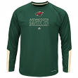 "Minnesota Wild Majestic NHL ""Cutting"" Cool Base Men's Long Sleeve Shirt"