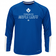 "Toronto Maple Leafs Majestic NHL ""Cutting"" Cool Base Men's Long Sleeve Shirt"