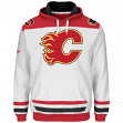 "Calgary Flames Majestic NHL ""Double Minor"" Hooded Men's Sweatshirt - White"