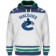 "Vancouver Canucks Majestic NHL ""Double Minor"" Hooded Men's Sweatshirt - White"